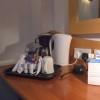 イギリスのホテルには瞬間湯沸かし器が一般的