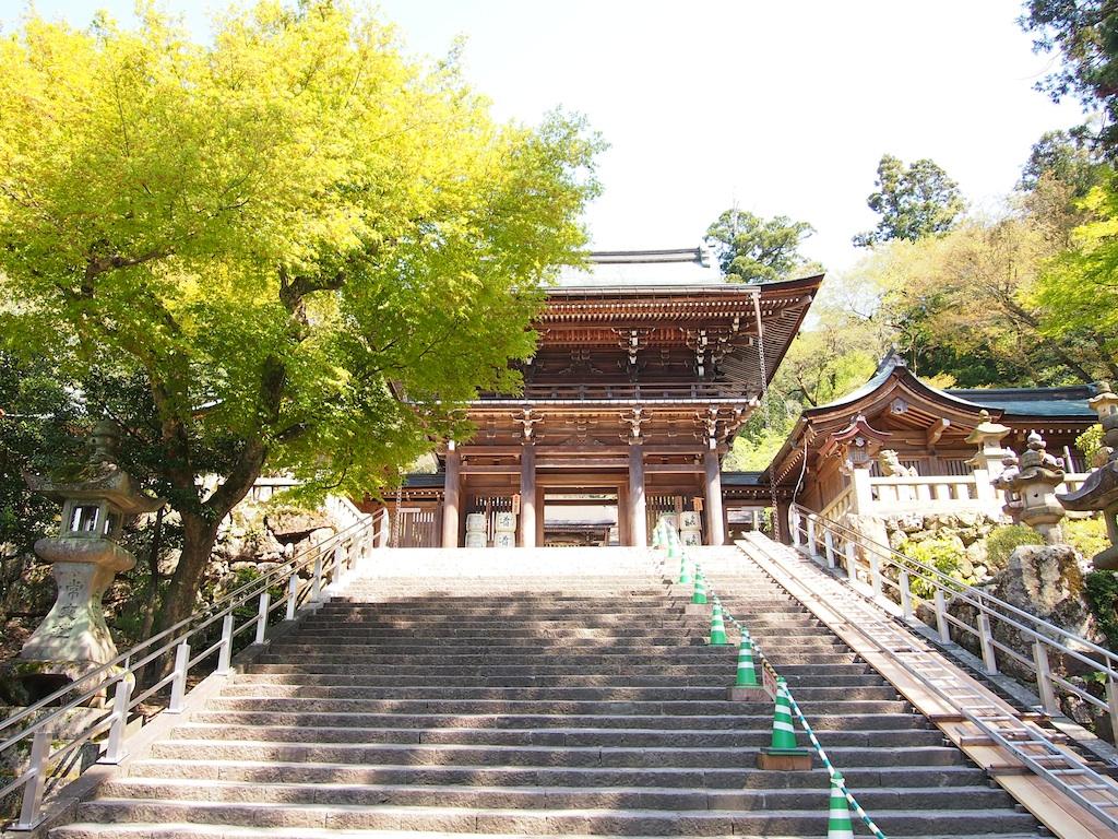 自然の中に佇む岐阜・善光寺
