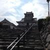 琵琶湖が見渡せる長浜城歴史博物館