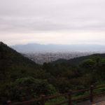 甲府の街並みが一望できる!和田峠みはらし広場