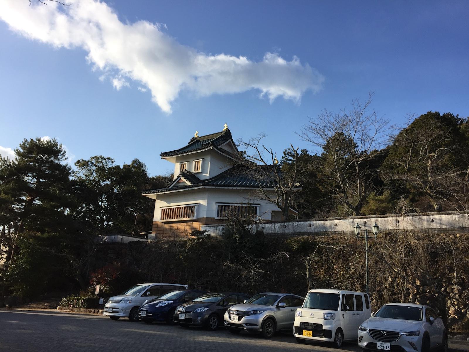 トレッキング並みの急勾配?桜で有名な小倉公園