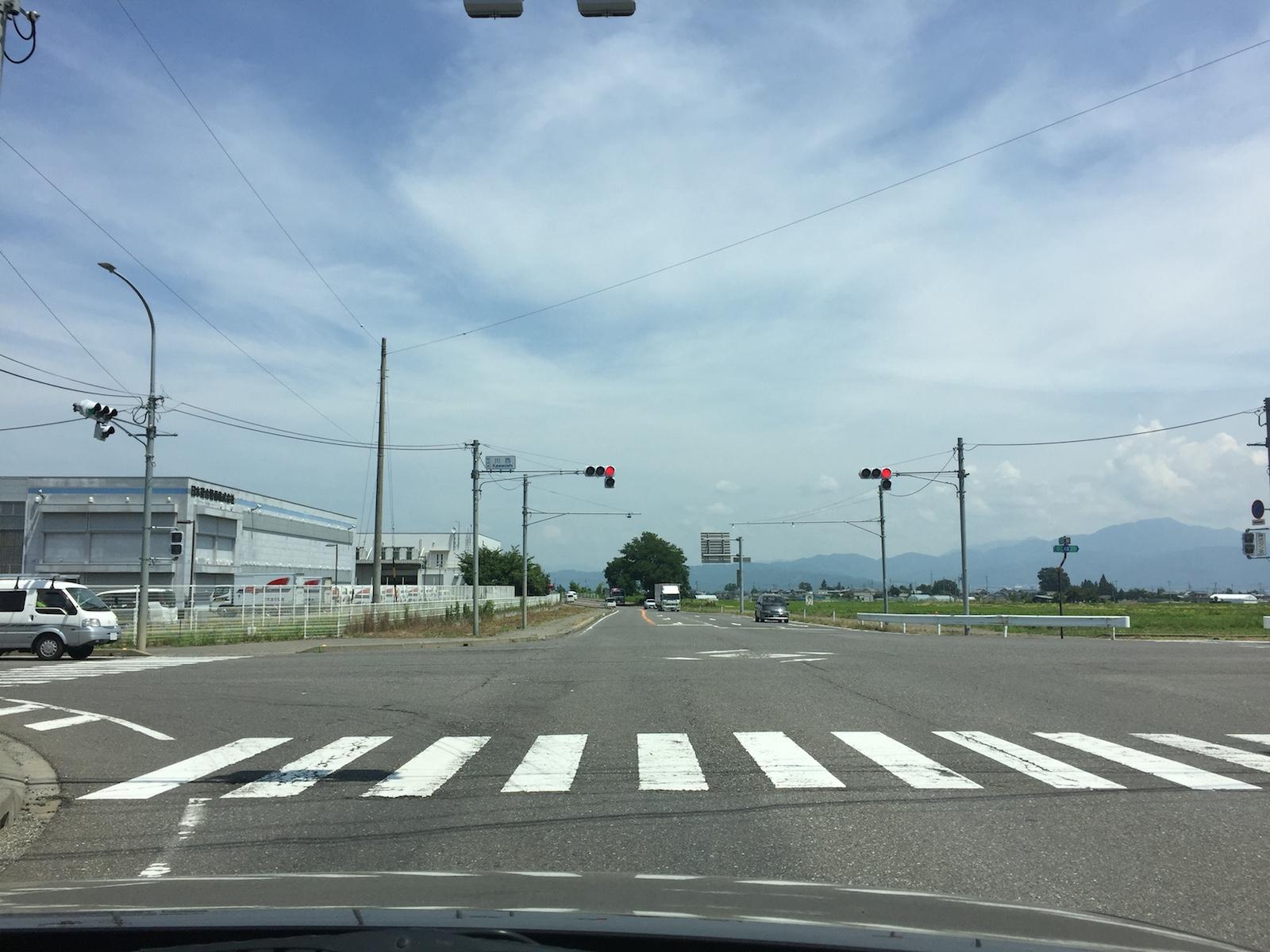 広域農道が渋滞!?日本アルプス...
