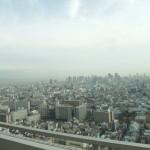 ホテル大阪ベイタワー -大阪を一望できる夜景を撮ってみました。