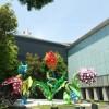松本市美術館−草間彌生の世界観そのままに。